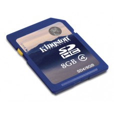 SDHC Card 8GB Kingston Class 4