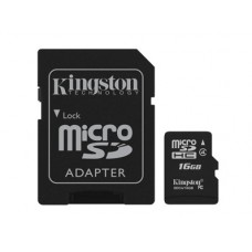 SDHC Card Micro 16GB Kingston Class 4
