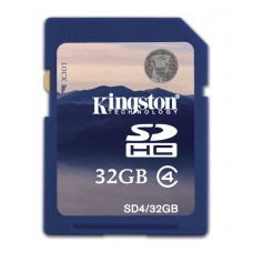 SDHC Card 32GB Kingston Class 4