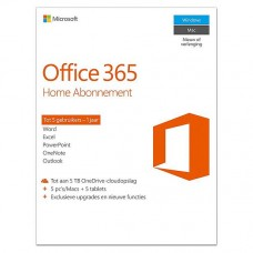 Microsoft Office 365 Home Premium - 1 jaar
